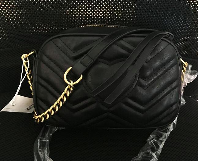 أعلى جودة عالية هامونت حقائب الكتف المرأة الذهب سلسلة crossbody حقيبة حقائب محفظة عالية الجودة الإناث رسالة حقيبة # M55478021