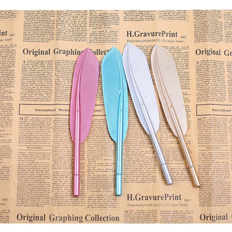 Plumas de gel hermosas plumas 0.5mm creative kawaii lindo pluma pluma tinta oficina oficina oficina de oficina papelería