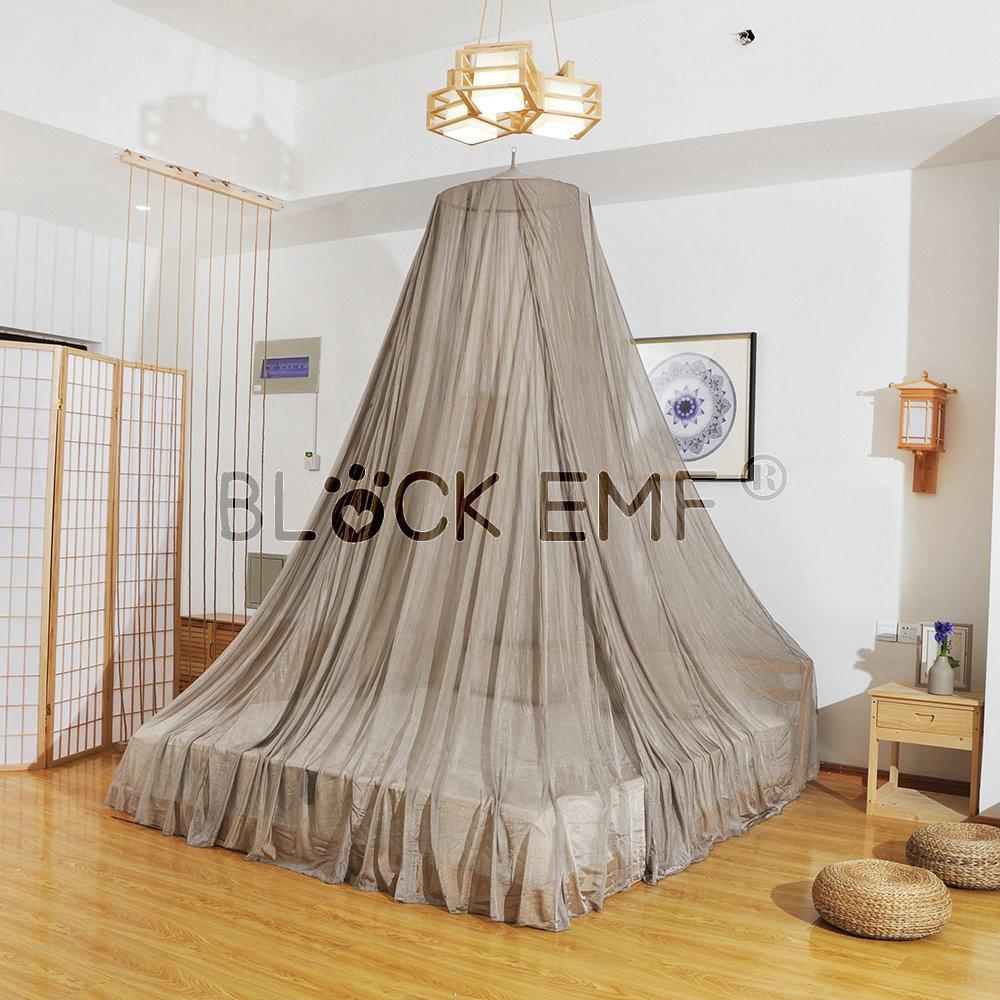 CEM / RF Blindage pliant moustiquaire Tente 100% mesh nylon revêtu d'argent Verrière
