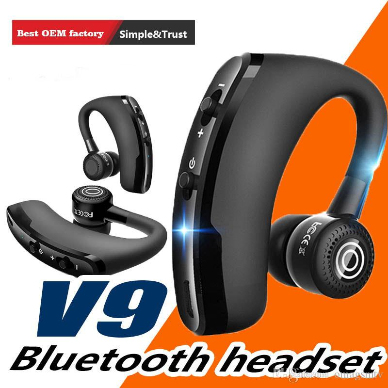 V9 V8s V8 Handsfree Wireless Bluetooth Earphones Noise Control Business Wireless Bluetooth Headset With Mic For Driver Sport Mobile Phone Earphones Wireless Headphones For Cell Phones From Omagsmtv 5 25 Dhgate Com