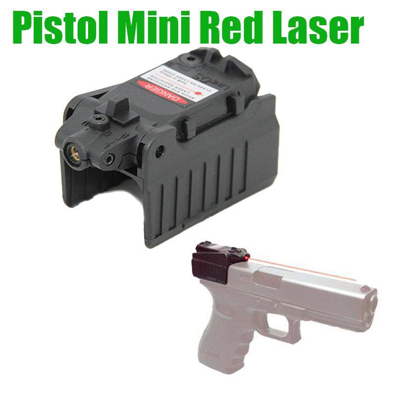 전술 권총 미니 레드 레이저 시력를 들어 G (17) 18C (22) 34 시리즈