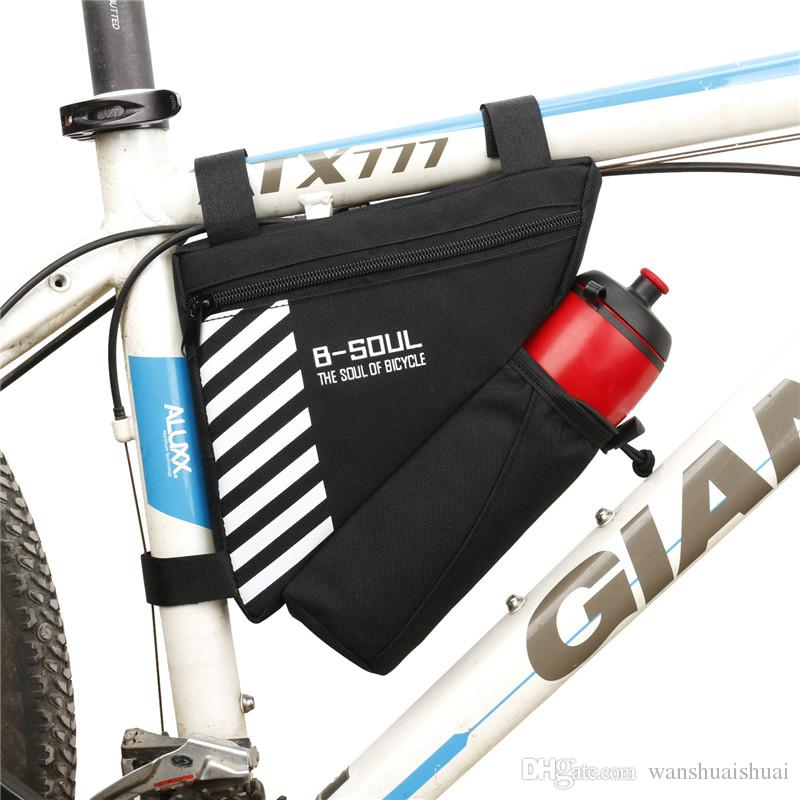 Bicycle Triangle Frame Front Bag Cycling Bike Tube Pouch Holder Waterproof Hot