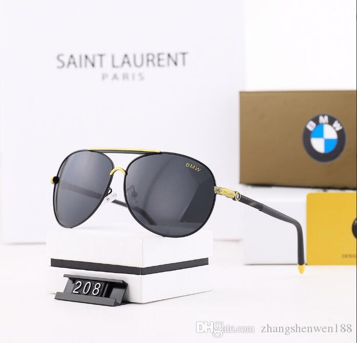 2020 Luxe Fashion Designers Grand Métal Lunettes de soleil pour hommes, femmes verre Objectifs Protection UV Lunettes de soleil C1