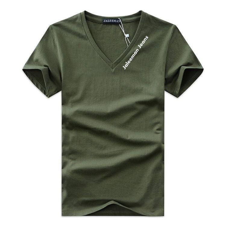 Offerta speciale T-Shirt da uomo Scollo a V Plus Size S-5xl T Shirt Uomo Estate Camicie a maniche corte Marca Tee Man Abbigliamento Camiseta