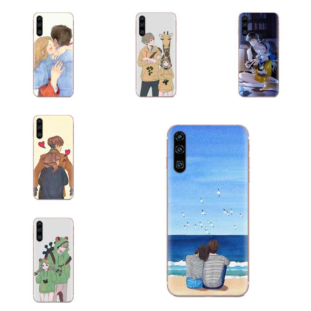 Custom Anime Couples Novelty Phone Case Cover For Apple iPhone 11 Pro X XS Max XR 4 4S 5 5C 5S SE 6 6S 7 8 Plus