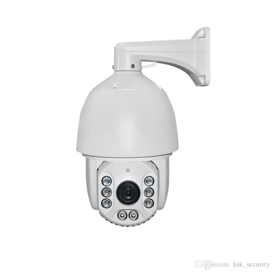 4 in 1 PTZ HD 22X Zoom 7 inch PTZ 360 degree CCTV home outdoor night vision ahd cvi tvi camera