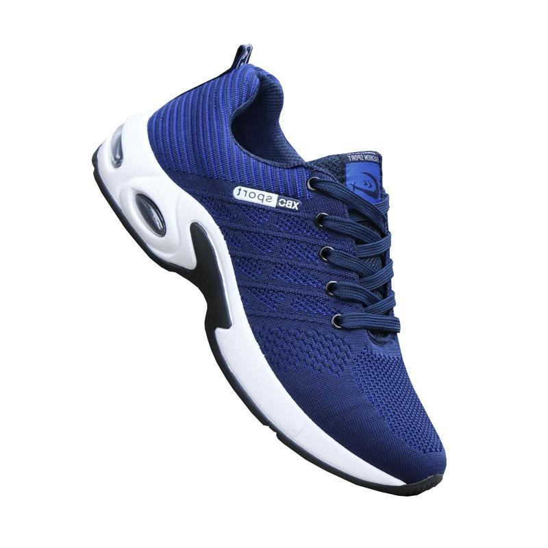 Sneakers Uomo Scarpe Casual Mesh traspirante estate Maschio Trainer Sneakers piedi scarpe Zapatillas Hombre Deportiva