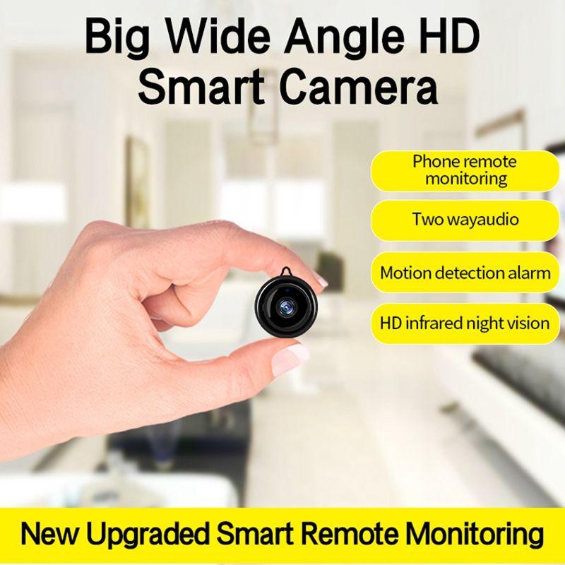 Full HD 720P Mini Wireless WIFI IP Camera IR Night Vision Mini Camcorders Kits for Home Security CCTV IR-cut Camera