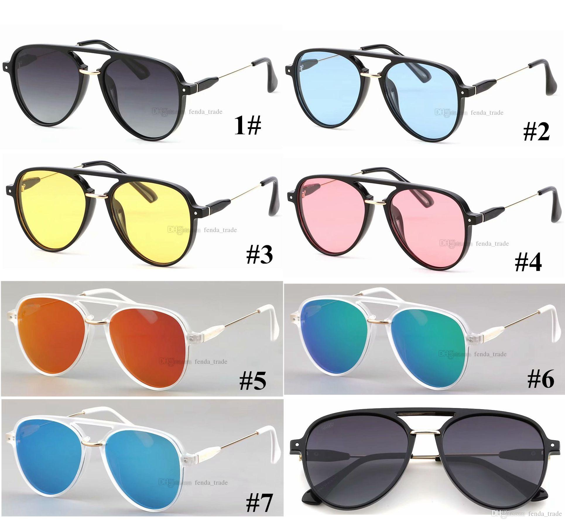 Oversize Polarized ROUND Mens Designer Sports Sunglasses TR90 frame Glasses Surfing Sunglasses Driving Factory Wholesale 7 colors MOQ=5PCS