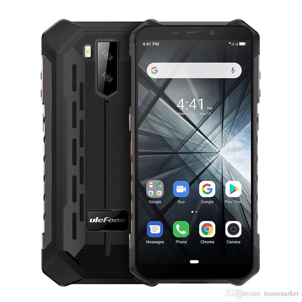Ulefone Armor X3 IP68 Waterproof Mobile Phone Android 9.0 32GB 5000mAH 5.5 inch 8MP With Face Unlock