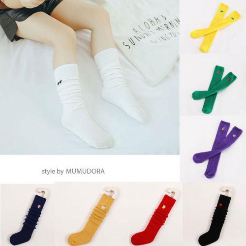 Newborn Cute Baby Girl Knee High Stocking Cotton Baby Kid Toddler Solid Casual Leg Warm Leggings Popular Pudcoco Low Price Hot