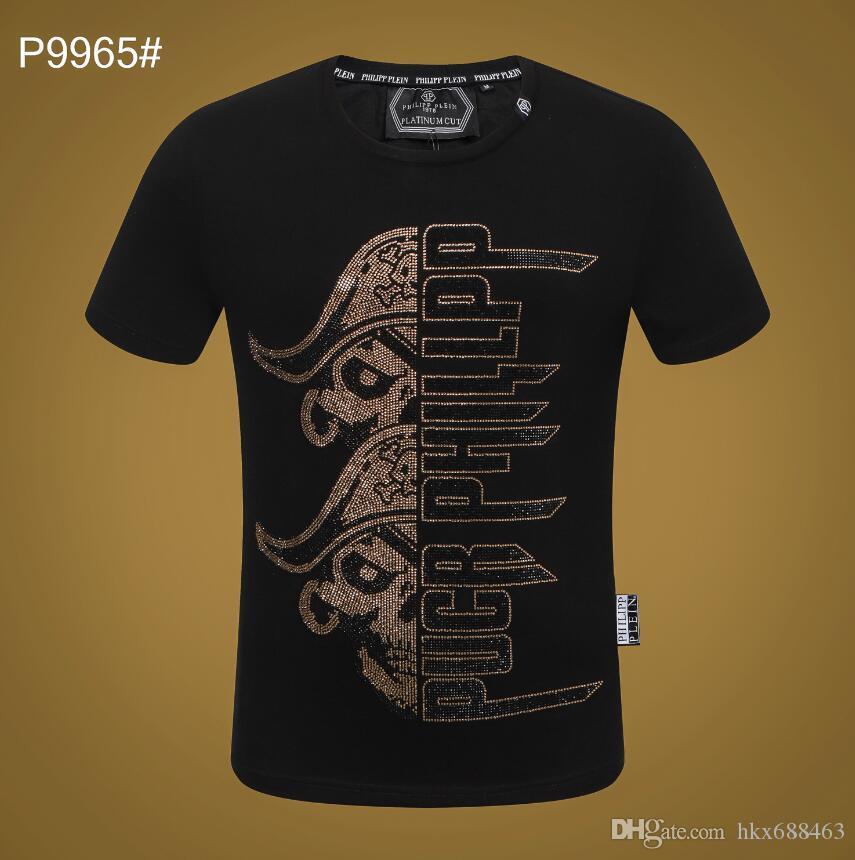 2019 Été Designer De Luxe T-shirts pour Hommes Femmes Tops Marque Shark Bouche Modèle Vêtements À Manches Courtes Tshirt Hommes Tops 6662