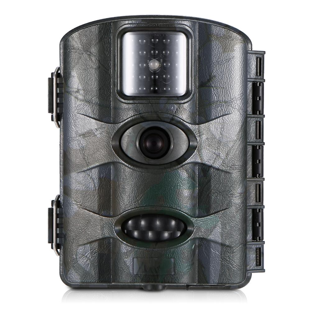 16MP 1080P Trail Camera Hunting Game Camera Outdoor Wildlife Scouting Camera with PIR Sensor Infrared Night Vision IP66