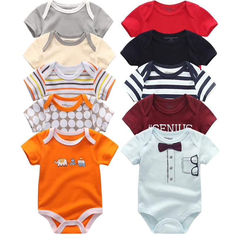 2019 Summer cotton Baby Rompers spring Baby Girls boys New born clothes bebe overall Pajamas baby clothing Toddler JumpsuitMX190912