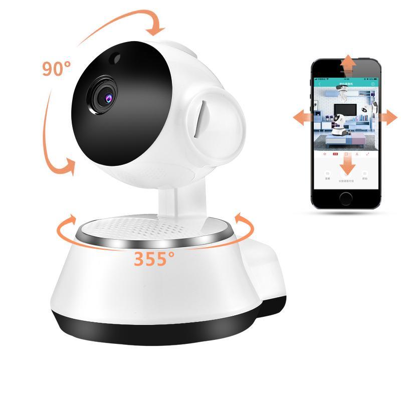 Home Security WiFi Kamera Wireless Smart IP-Kamera WI-FI Audio-Aufzeichnung Überwachung CCTV-Kamera HD Mini Baby Monitor Zoom