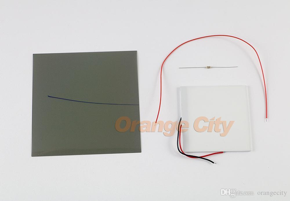 DIY for Gameboy DMG 001 GB GBP 백라이트 모드 차가운 흰색 LCD 패널을 사용하여 하이라이트 스크린 뒤에