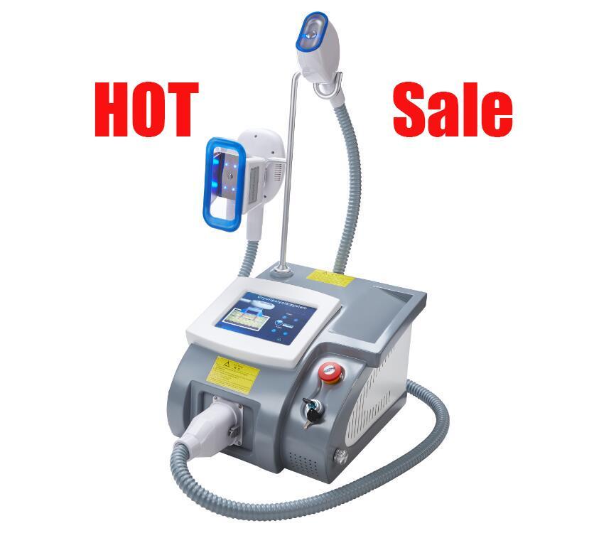 새로운 모델 고품질 데스크탑 냉동 지방 용해 장비 냉동 체중 감량 단일 핸들 슬리밍 악기