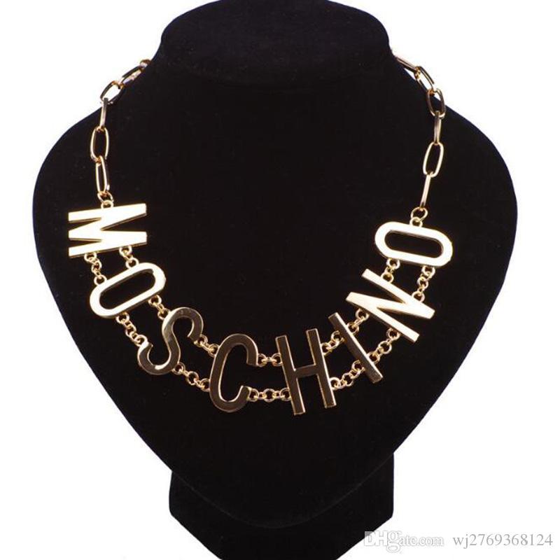Eur الأزياء فاسق خطابات المختنقون قلادة 14 كيلو الذهب خطابات الترقوة سلسلة نساء فتاة المرحلة يتصرف دور ofing المجوهرات