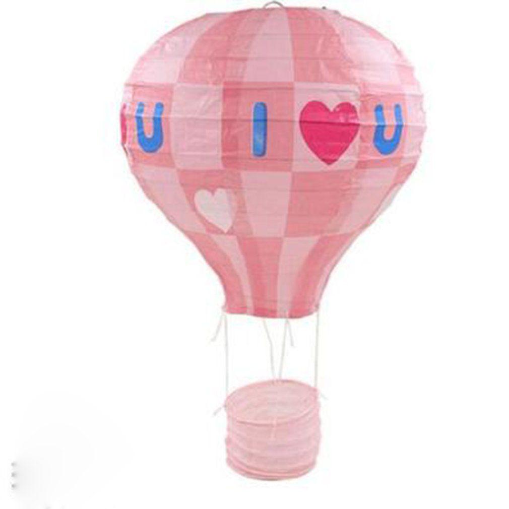 12/16 Fotografia aniversário da lanterna de papel chinesa balão de ar Inch arco-íris quente da lanterna de papel Props Wedding Party Decoration