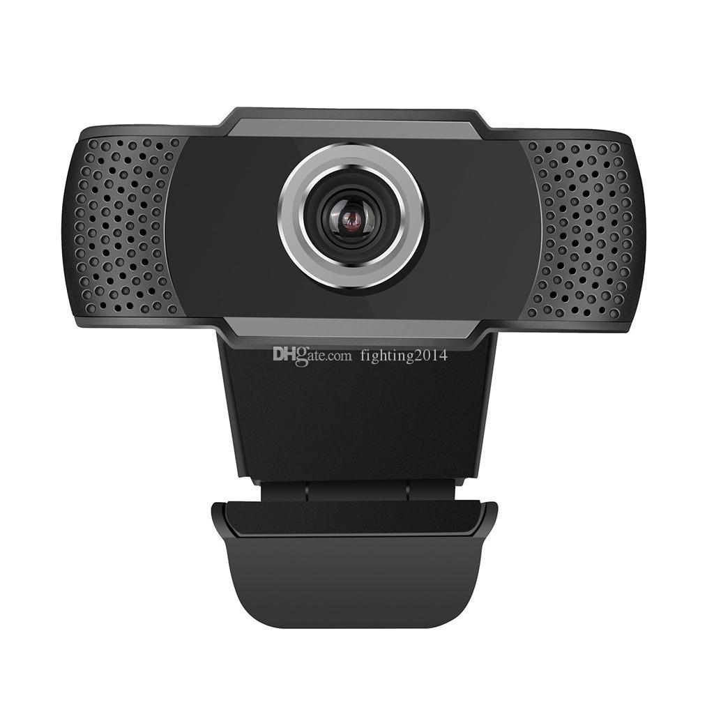 USB HD 1080P webcam per computer portatile 2MP video high-end chiamata Webcam macchina fotografica con riduzione del rumore Microfono con la scatola al minuto