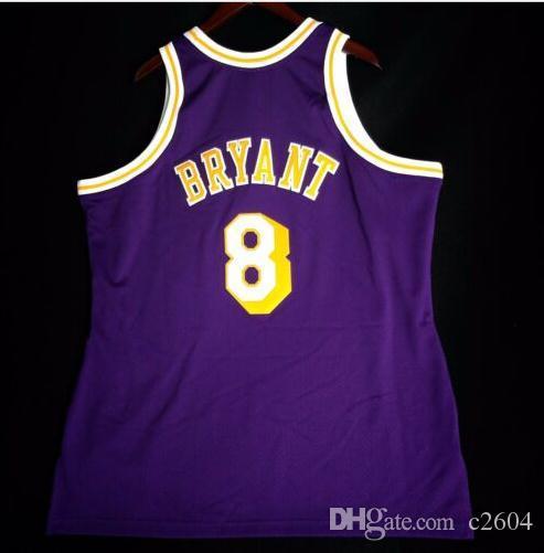 Seltene Retro Männer Jugendfrauen Vintage K B Mitchell Ness 96 97 College Basketball-Jersey Größe S-4XL oder benutzerdefinierte Name oder Nummer Jersey