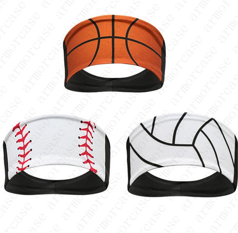 2020 New Designer Softball-Stirnband Baseball Tie Stirnband Basketball Sweat Turban Sport Quick Dry Männer und Frauen Stirnband Kopfschmuck D52216