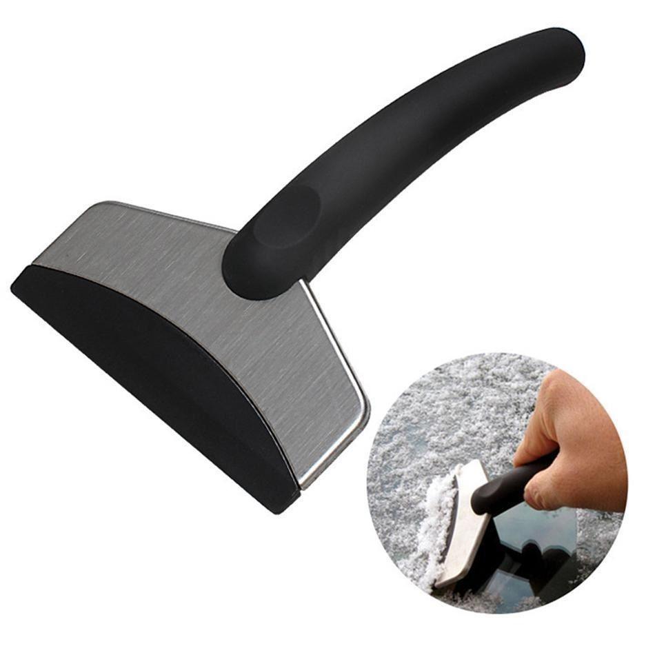 acero inoxidable pala de nieve raspador de limpieza eliminar la moda vehículo alquiler de herramienta y una herramienta útil deshielo SZ513