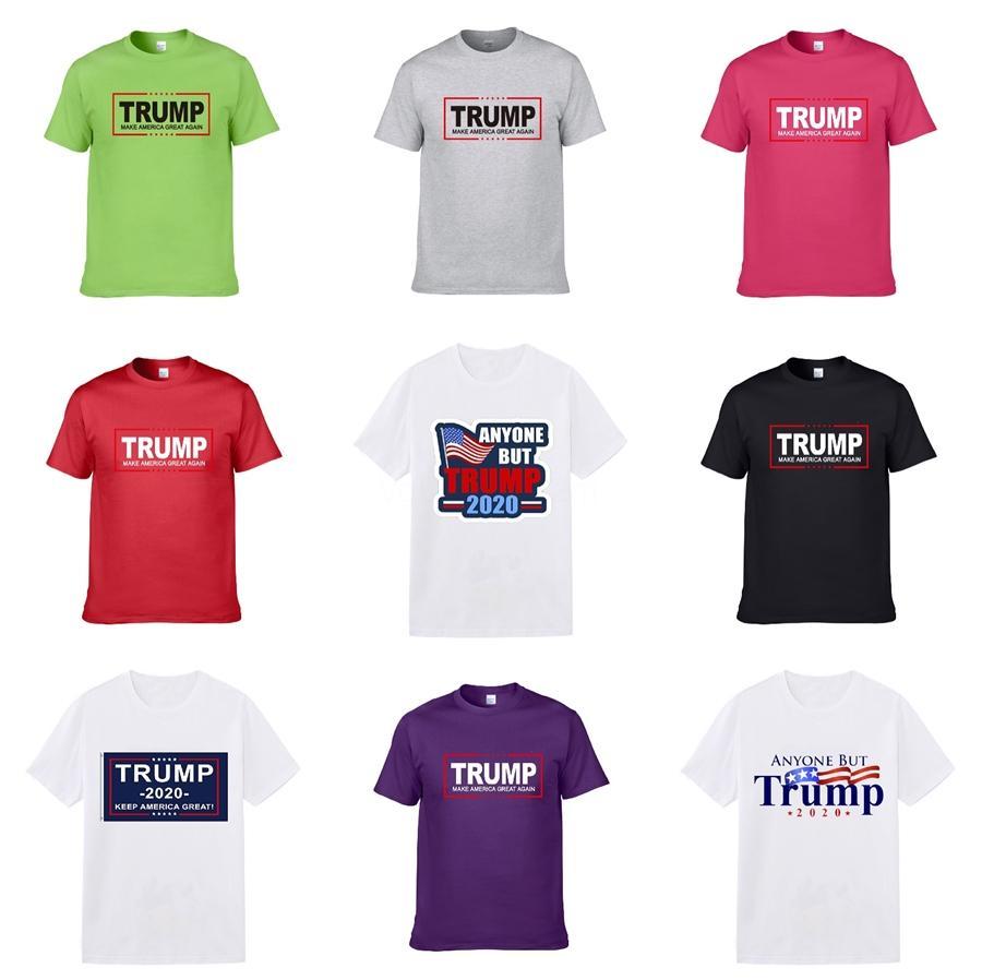 19SS été l'Europe Paris Mode Hommes Designer de haute qualité coton Graffiti T-shirt décontracté Femmes T luxe Trump T-shirt 793 # 649