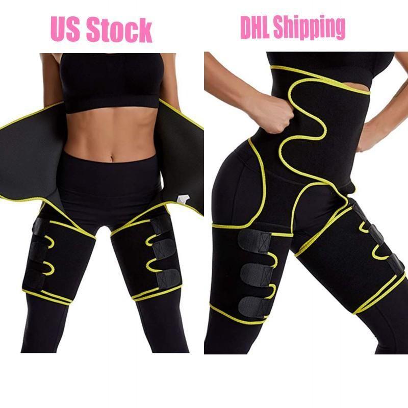 EU Stock Homens Mulheres Shapers cintura instrutor Belt Corset Belly Slimming Shapewear Suporte cintura ajustável Corpo Shapers Shapewear FY8054
