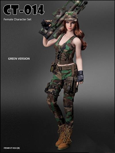 6 Échelle Femme Bottes Militaire Vêtements Pour Action Figurine Corps 1