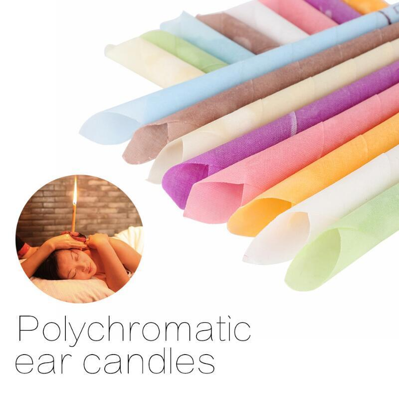 High Quality Aromatherapy Indian Theraphy Ear Candle Health Care Beauty Product Trumpet Cone Ear Candles 1000pcs Wholesale Lx7674
