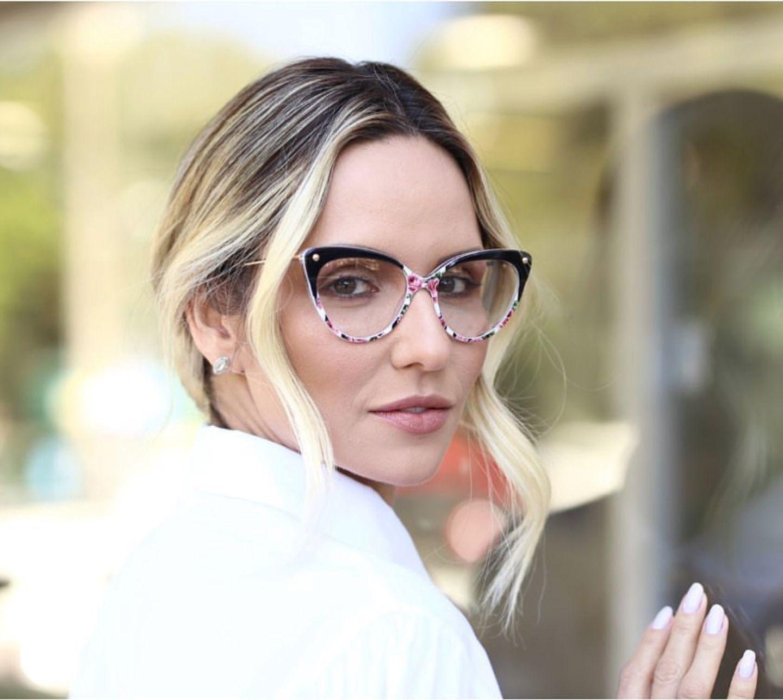 Transparent Cat Eye Sunglasses Frame Clear Fashion Eyeglasses Optical Eye Glasses Frames Women Myopia Glass Spectacles Eyewear Wholesale