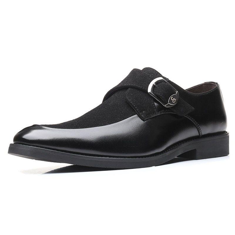 Los hombres zapatos Oxford nuevo cuero de la llegada de los hombres zapatos formales de alta calidad Social elegante de lujo clásico