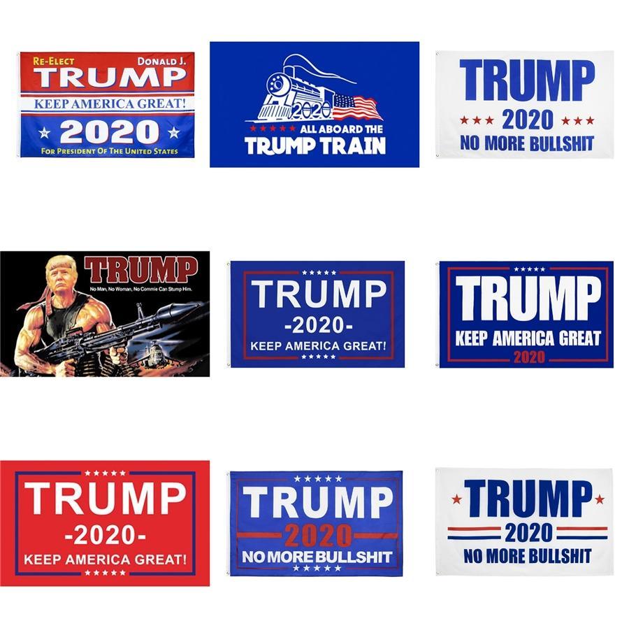 90 * 150 cm Polyester Dekoration Flagge 3 * 5 Ft Trump 2020 Flag Keep America Große Flagge Fahne # 172