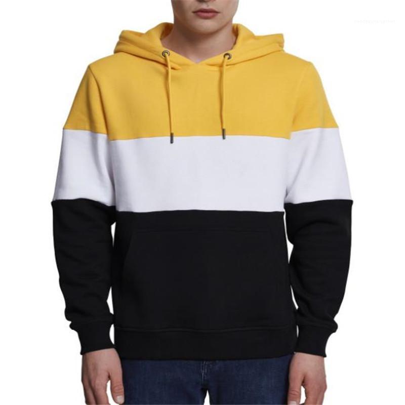Kleidung Streifen Drucken Mens Designer Hoodies Beiläufige Lose Große Tasche Mens Hoodies Mode Langarm Männer