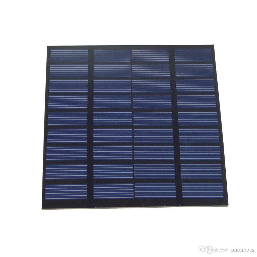 SW01509 célula Monocrystalline do painel solar do silicone DIY de 1.5W 9V para a educação