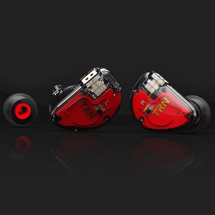 TRN V30 هيفي في الأذن سماعات سلكية 0.75mm 2PIN انفصال كابل سماعة، من دون هيئة التصنيع العسكري