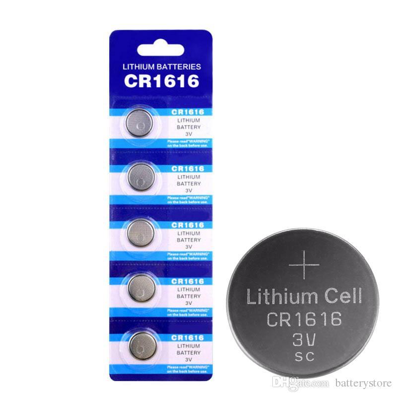 بالجملة 300PCS 3V CR1616 CR 1616 زر خلية البطارية عملة بيلاس BR1616 ECR1616 5021LC CR1616 بطاريات أجهزة التحكم عن بعد ساعة على مدار الساعة الليثيوم مصنع