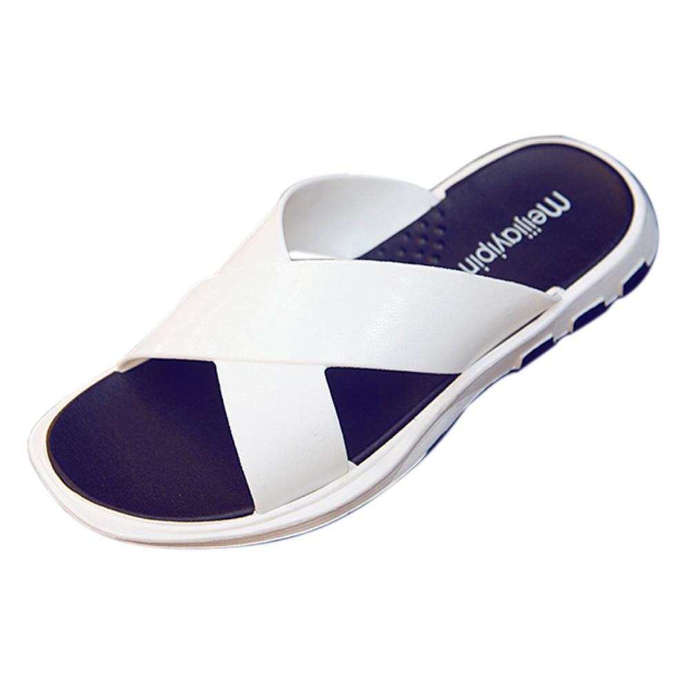 Nueva fresca del verano del tirón agua flop de los hombres de alta calidad suave masaje en la playa Zapatillas hombre de la manera de los zapatos ocasionales Sapatos Hembre Sapatenis