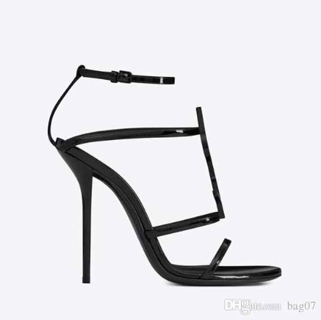 2019 Mujer zapatos de diseñador de moda sandalias de tacón sandalias de diseñador Sandalias de diseñador Caja original 35-41 Envío gratis SLL1638