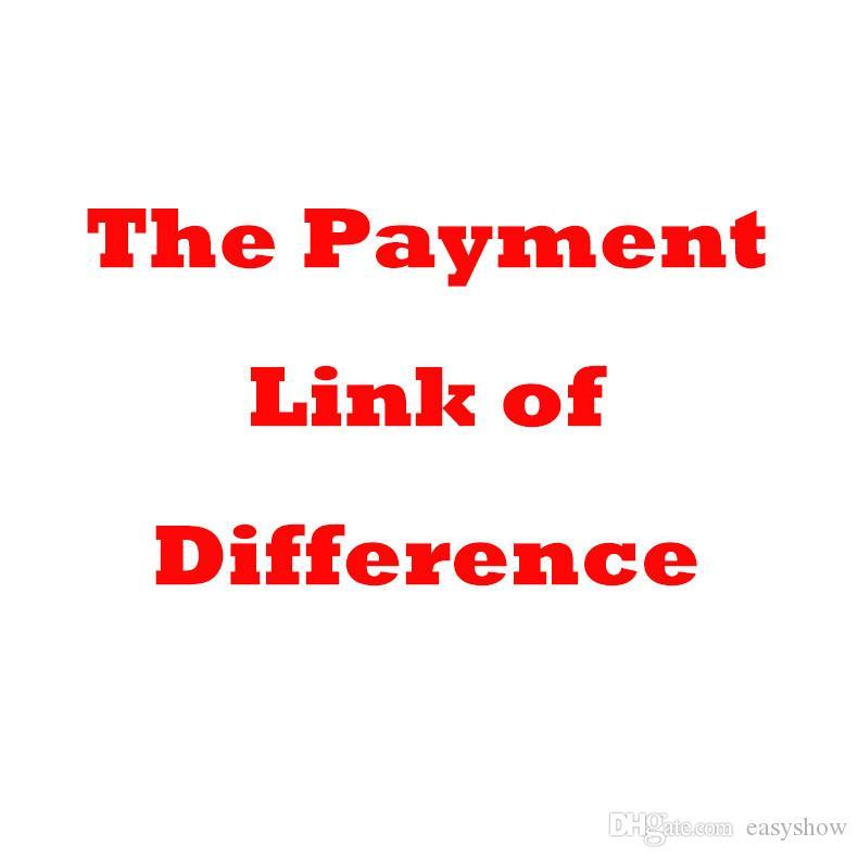 Fácil enlace de pago de cualquier artículo de nuestros clientes regulares y de enlace de pago del saldo de la tarifa de envío adicional