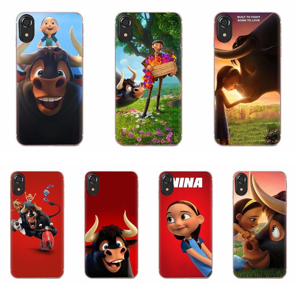 Phone Case for Apple IPhone 4 4S 5 5C 5S SE 6 6S 7 8 11 Plus Pro X XS Max XR Soft Phone Case Moive Ferdinand fundas