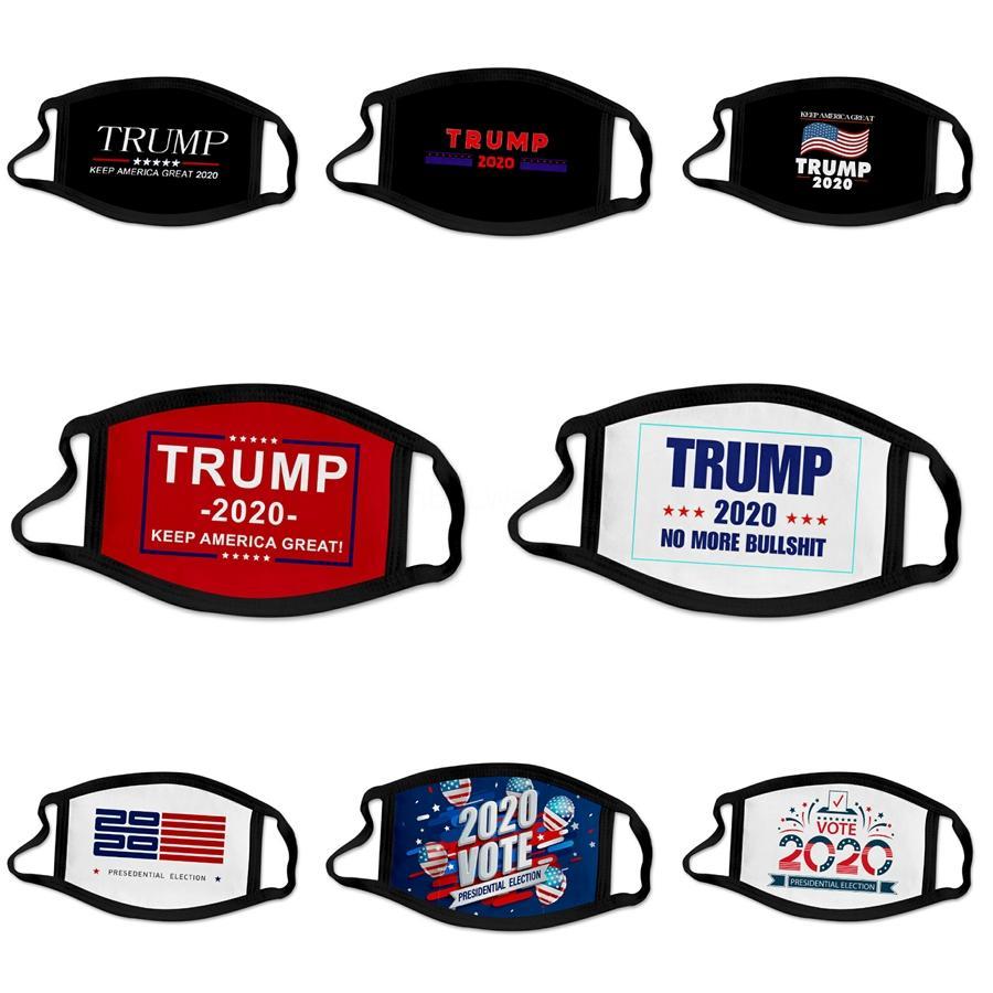 Máscara Facial 3 Camada Ear Loop-Boca Poeira Máscaras er Non Woven Designer Trump Poeira Maske macio respirável contra pó Adultos Facemas # 669