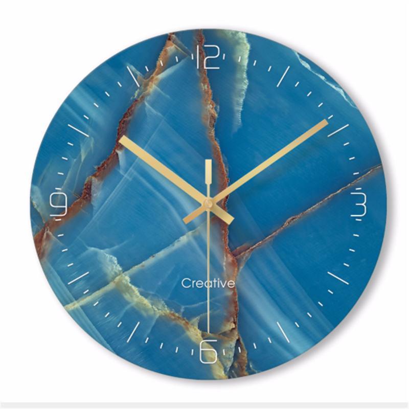 reloj de cuarzo reloj minimalista simple pared Relojes de pared Inicio Salón Dormitorio decorativo 12 pulgadas silencioso relojes de pared