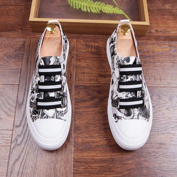 Chaussures en cuir de marque de haute qualité pour hommes, chaussures en cuir blanc, chaussures décontractées de concepteur de crime, chaussures de conduite de luxe pour hommes, b9