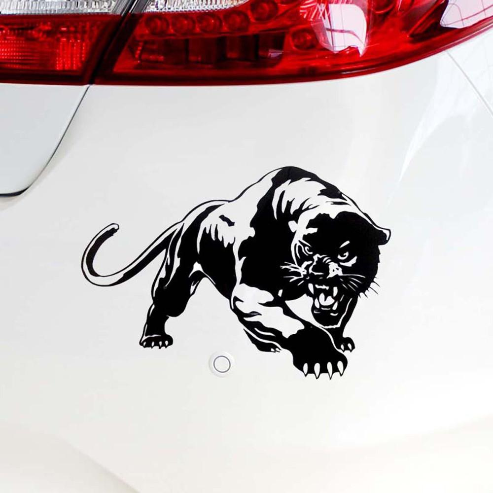 Fiery Wild Panther Охота тела автомобиля Декаль автомобиля наклейки Мотоцикл украшения Авто Мото Riflettente Del Vinile наклейки Hot Sale