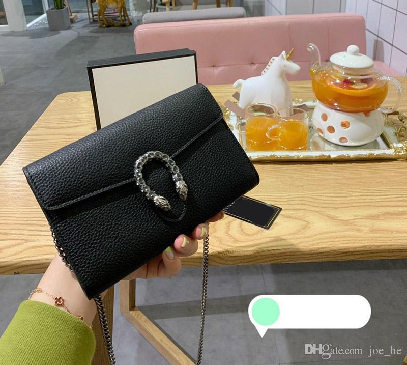 Geldbörse Luxus Schultergurt Tolle Kette Handtasche Frauen Qualität Crossbody Designer- Designer Taschen Damen Geldbörsen Tasche Vjemx