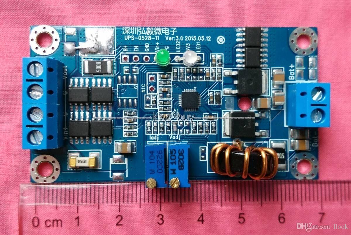Freeshipping 8A lityum / kurşun asit akü şarj modülü sabit akım DC UPS / güç 12 V 24 V 19 V