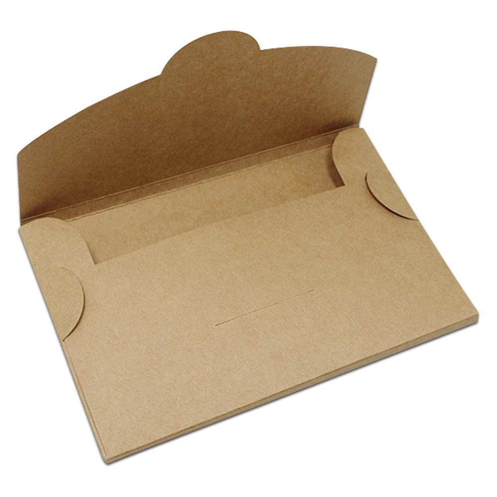 30PCS 6 مقاسات براون كرافت ورقة بطاقة بريدية صناديق تغليف Papercard صورة تخزين مربع مغلف بطاقات المعايدة طوي الكرتون التعبئة والتغليف صناديق