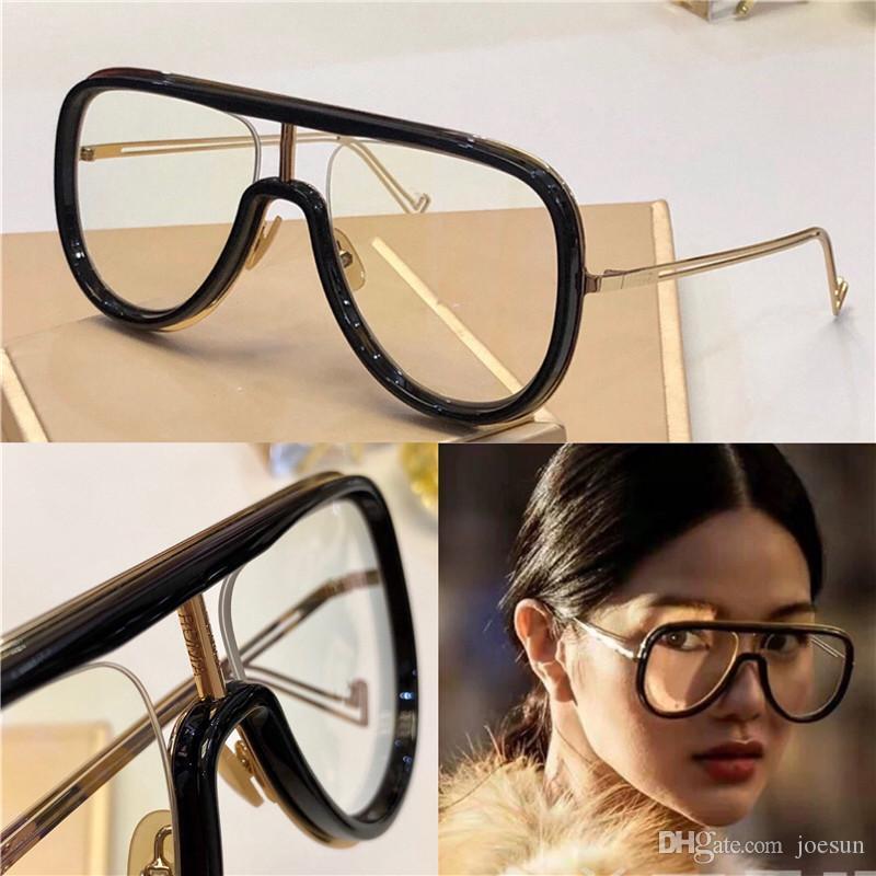 Novo designer de moda óculos de sol 0068 piloto quadro grande verão de proteção óculos de protecção simples best-seller estilo qualidade superior uv 400